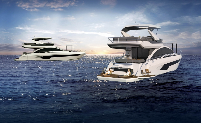 Conheça a linha completa de embarcações Intermarine Yachts